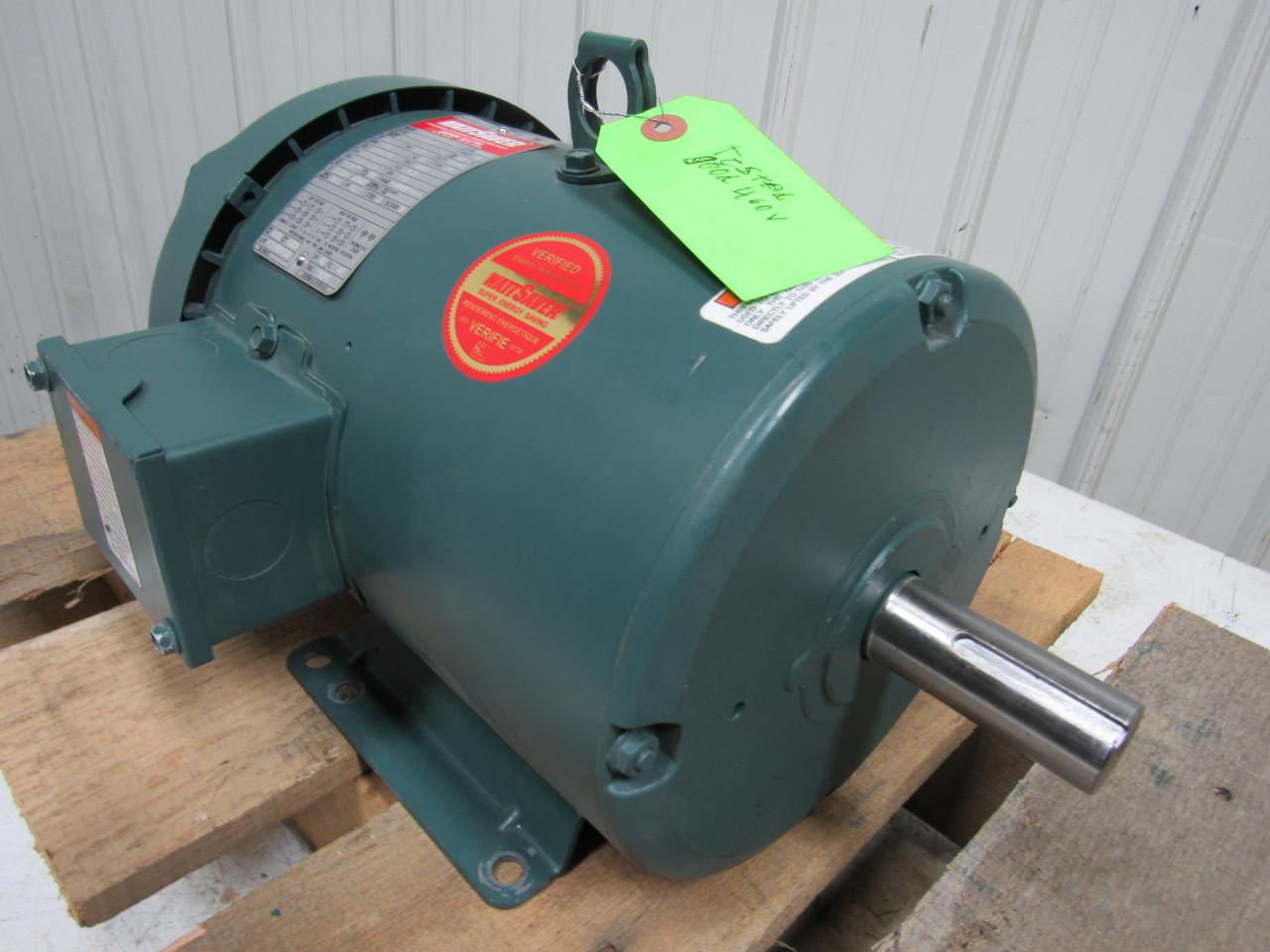 Leeson C184t17fb42e 5 Hp Electric Motor 1760rpm 184t 208