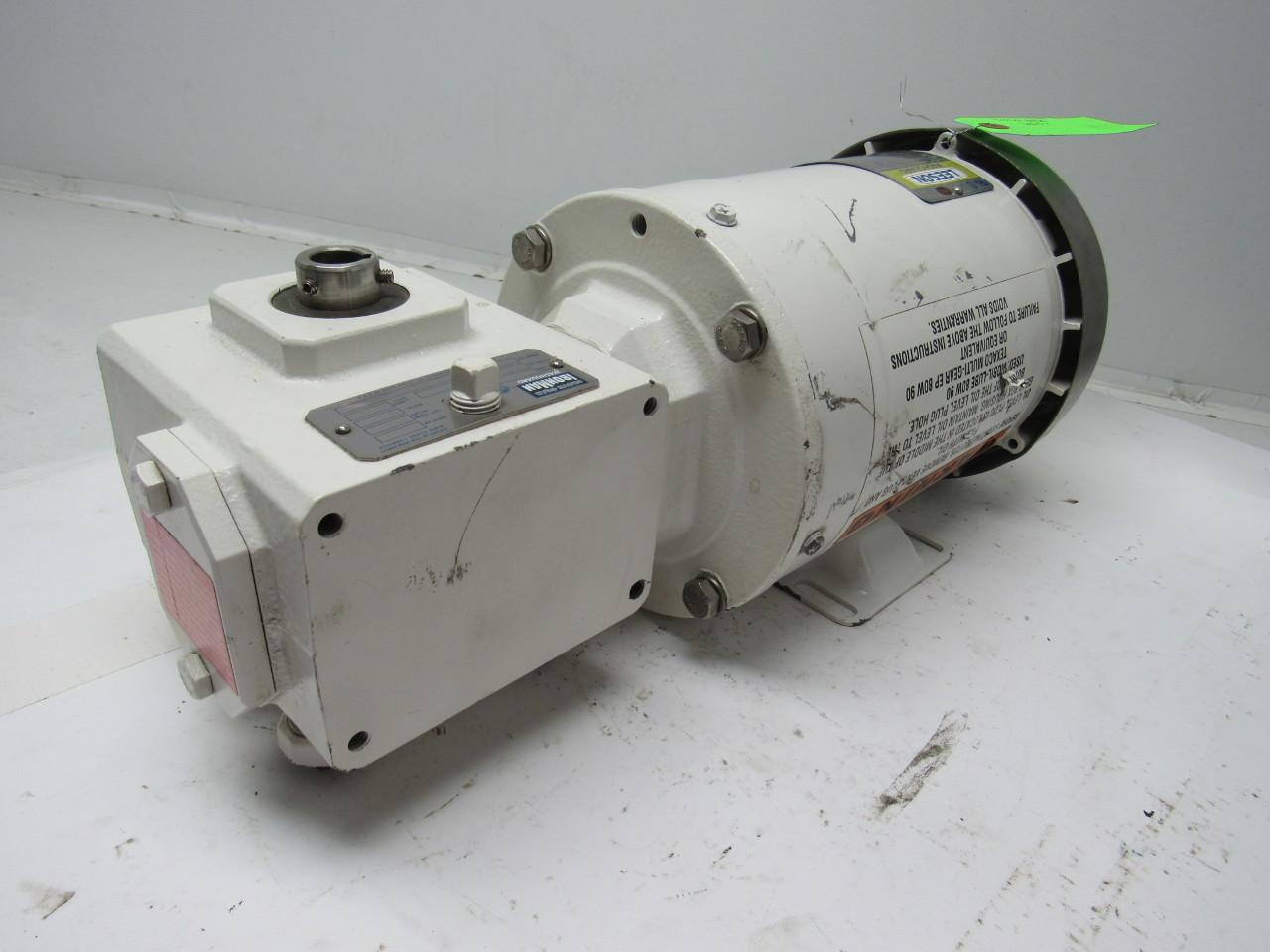 Leason Washguard Ironman 5 1 Ratio Gear Box Speed Reduce W