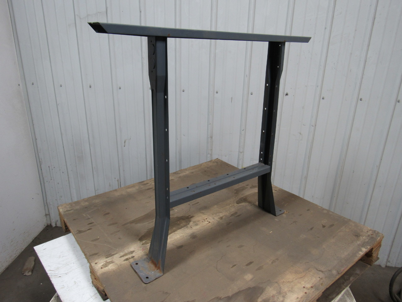 Heavy Duty Industrial Steel Shop Table Legs Workbench Legs 32 Tall Lot Of 2 Ebay