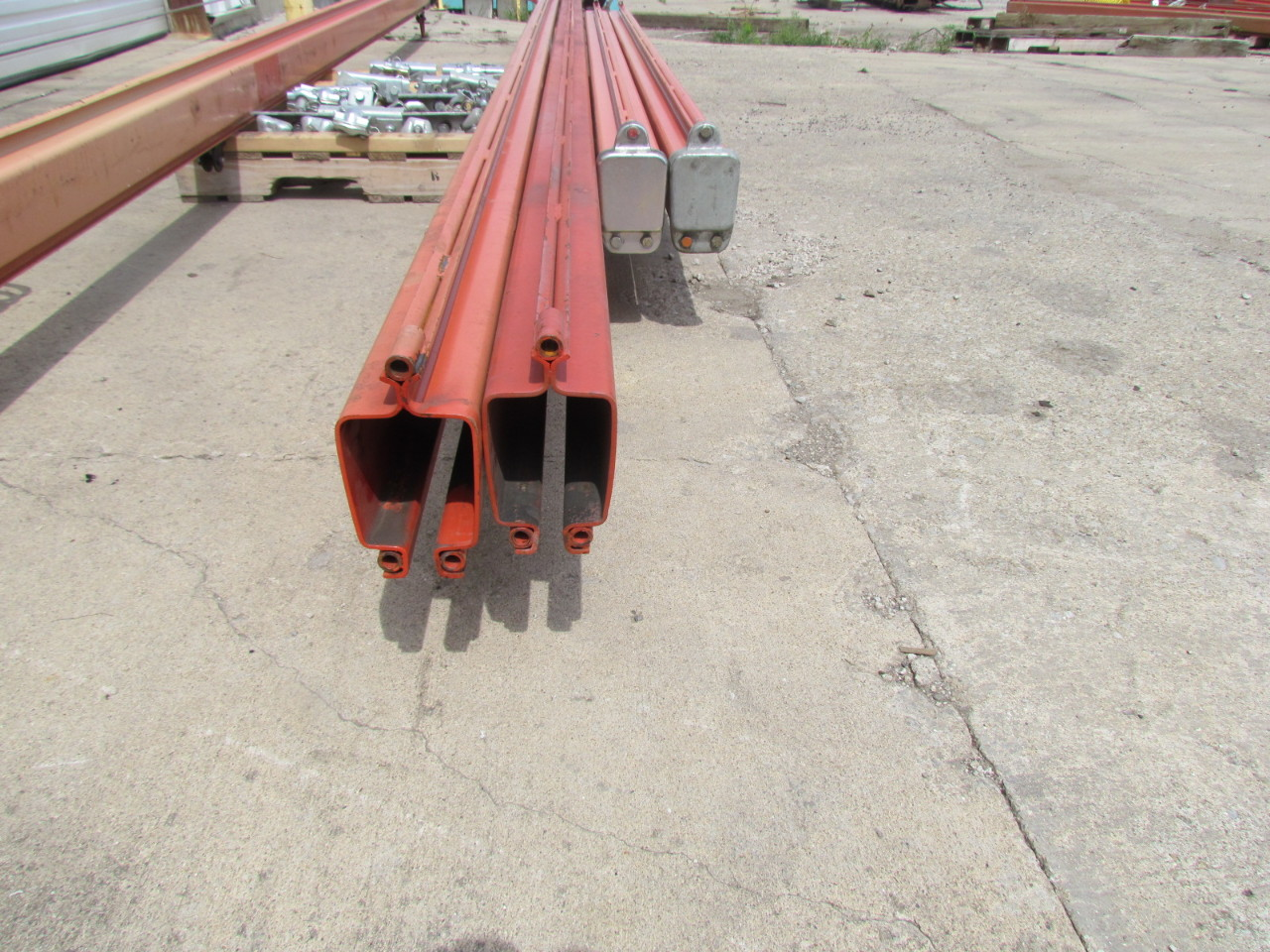 Overhead Crane 500kg : Demag kbk ii kg lb ceiling hung bridge crane