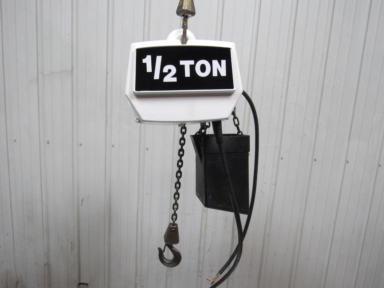 coffing ec1032.4 1/2 ton electric chain hoist 2 spd. 11 ... coffing 1 2 ton hoist parts diagram