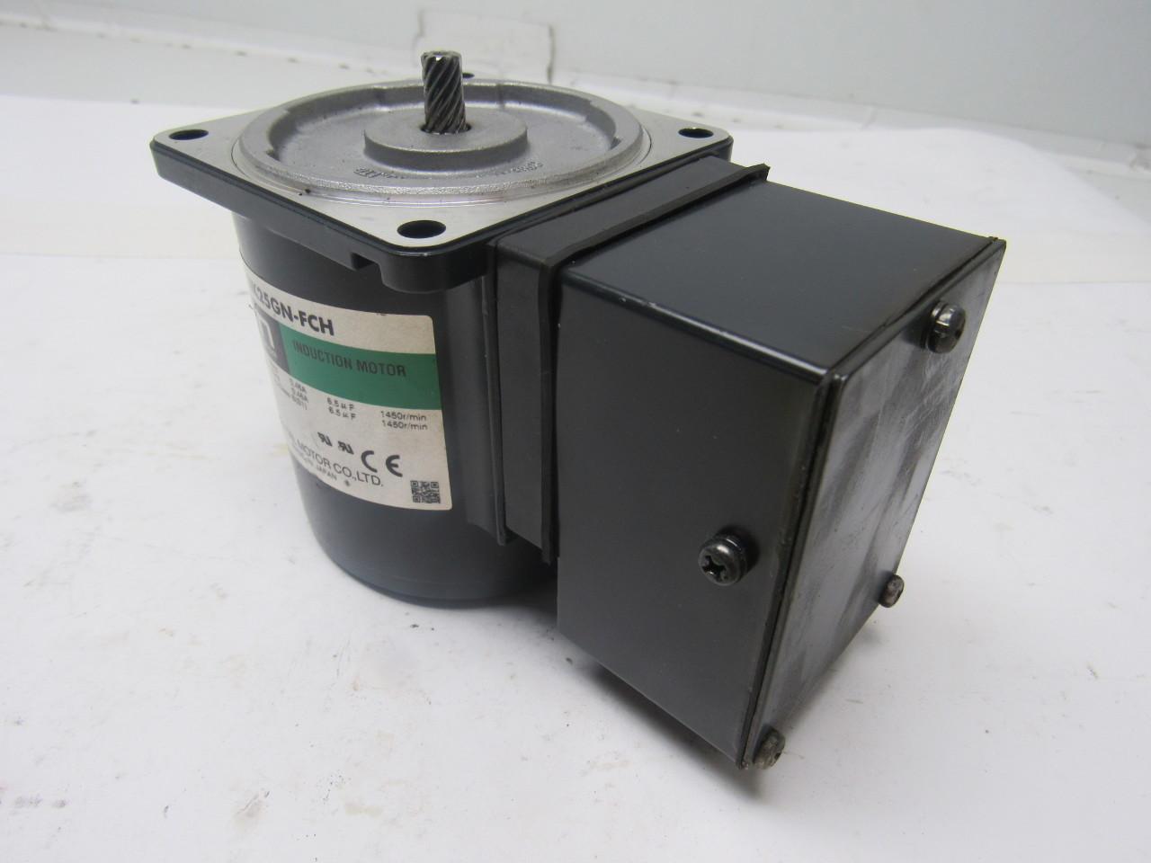 Oriental Motor 4ik25gn Fch Induction Electric Motor 110