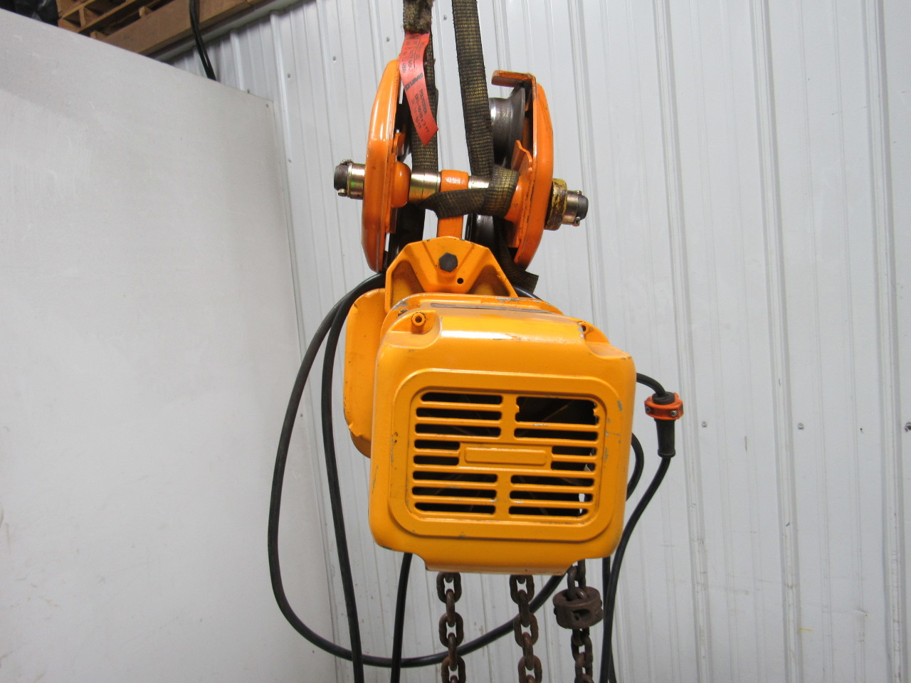 Harrington Ner010l 1 Ton Trolley Electric Chain Hoist 11