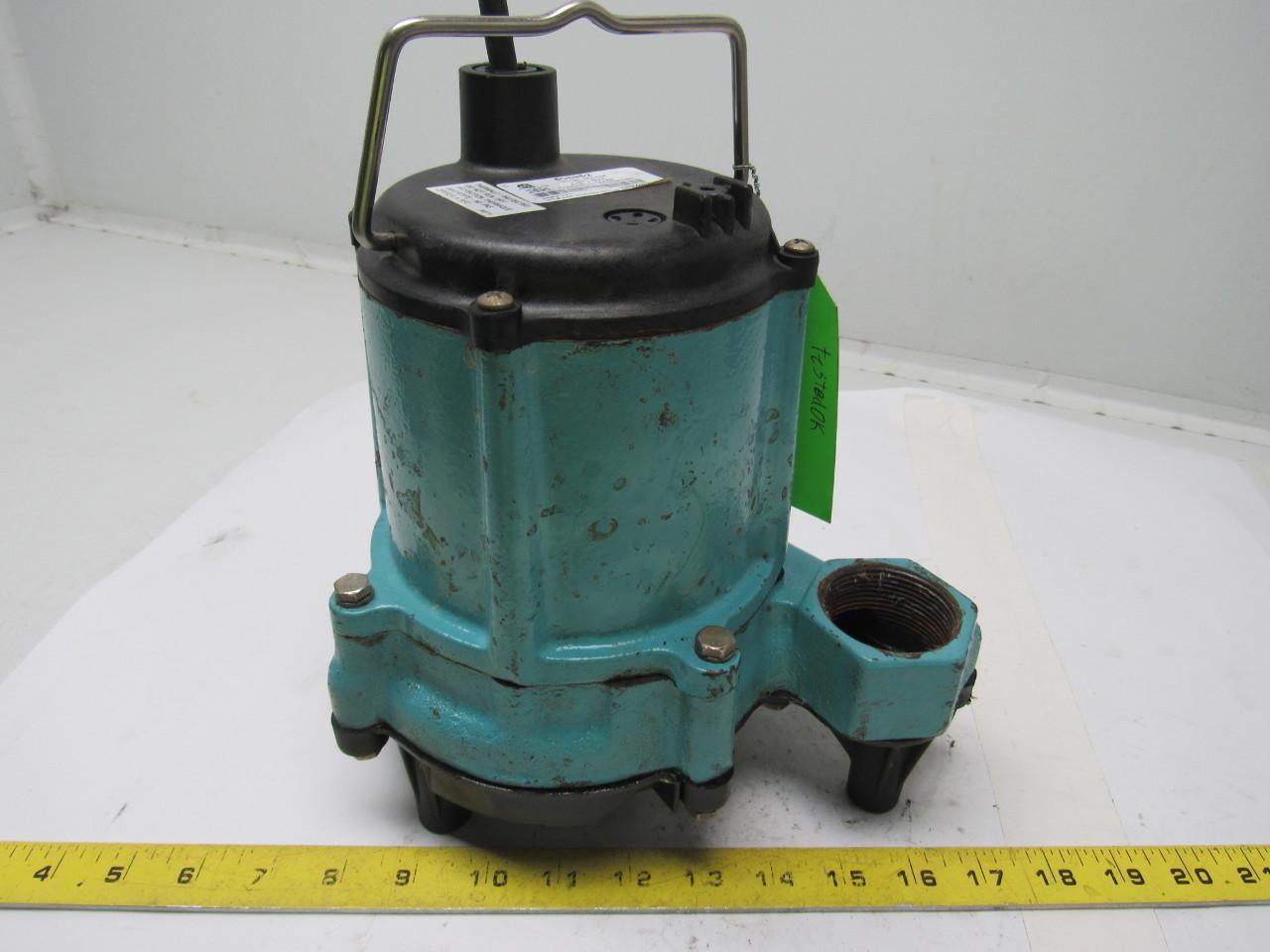 Little Giant 6en Cim 1 3hp 115v Submersible Sump Pump Ebay