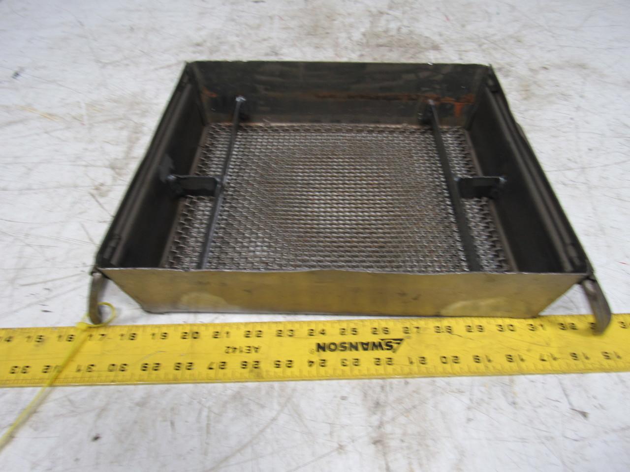 Steel Wire Mesh Plating Racks Dip Tank Parts Cleaning Bins