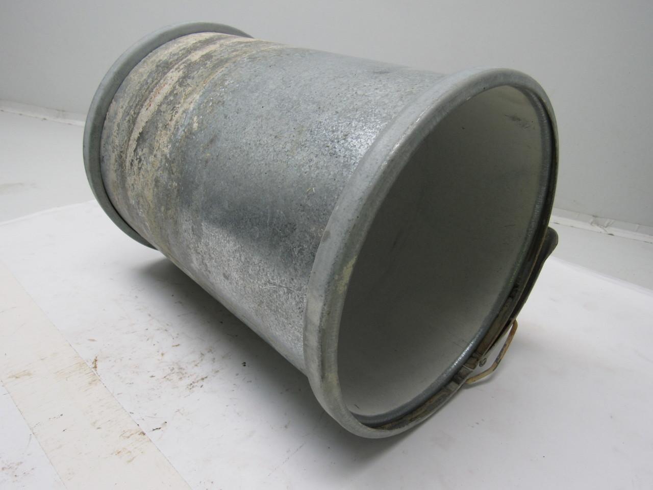 Quot galvanized industrial vacuum pipe coupling w clamps ebay
