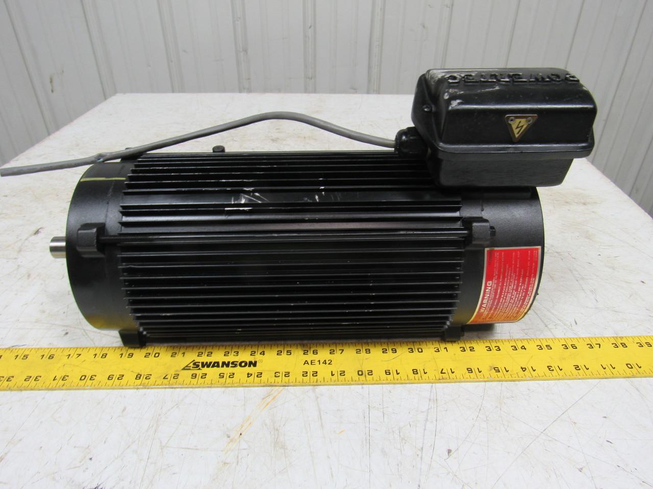 Powertec L14cla1100700000 Brushless Dc Servo Motor 3 Hp 1750 Rpm Tenv L145tc Ebay