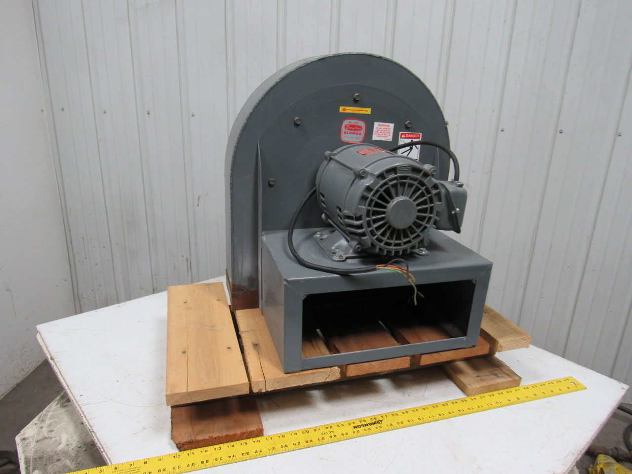 Dayton Industrial Fans And Blowers : Dayton c n a quot blower fan hp tri volt