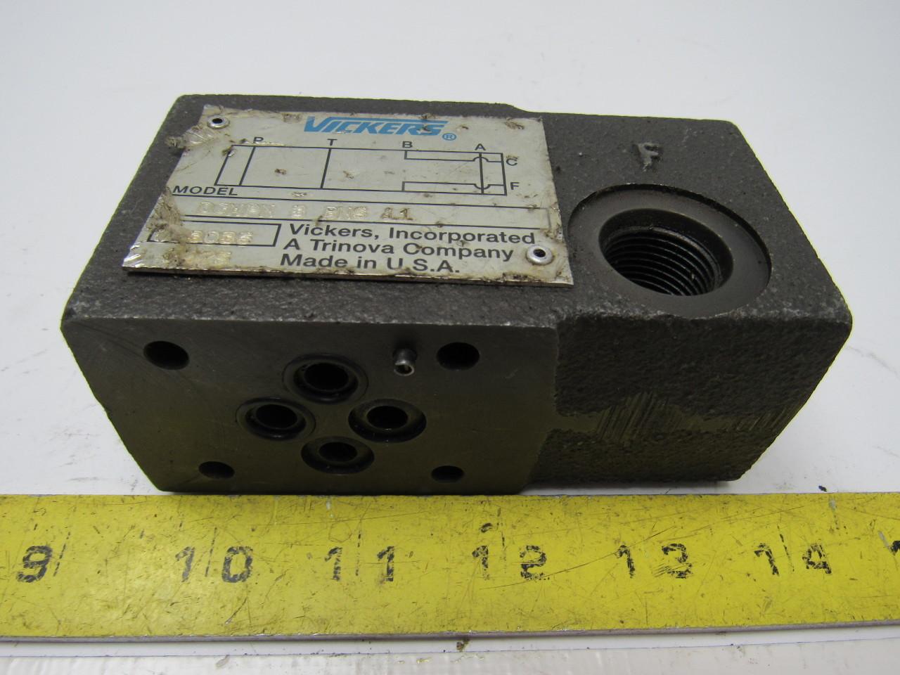 Vickers DGMPN-3-BNS-11 Hydraulic Pressure Control Valve