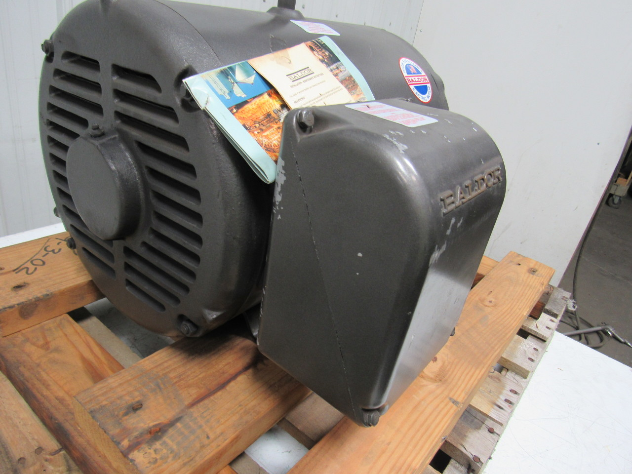 Baldor M2531t 25 Hp Ac Electric Motor 230 460v 1760 Rpm