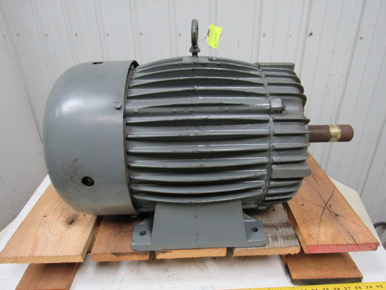 delco 10 hp ac electric motor 900 rpm 284u 460v 3ph 60hz