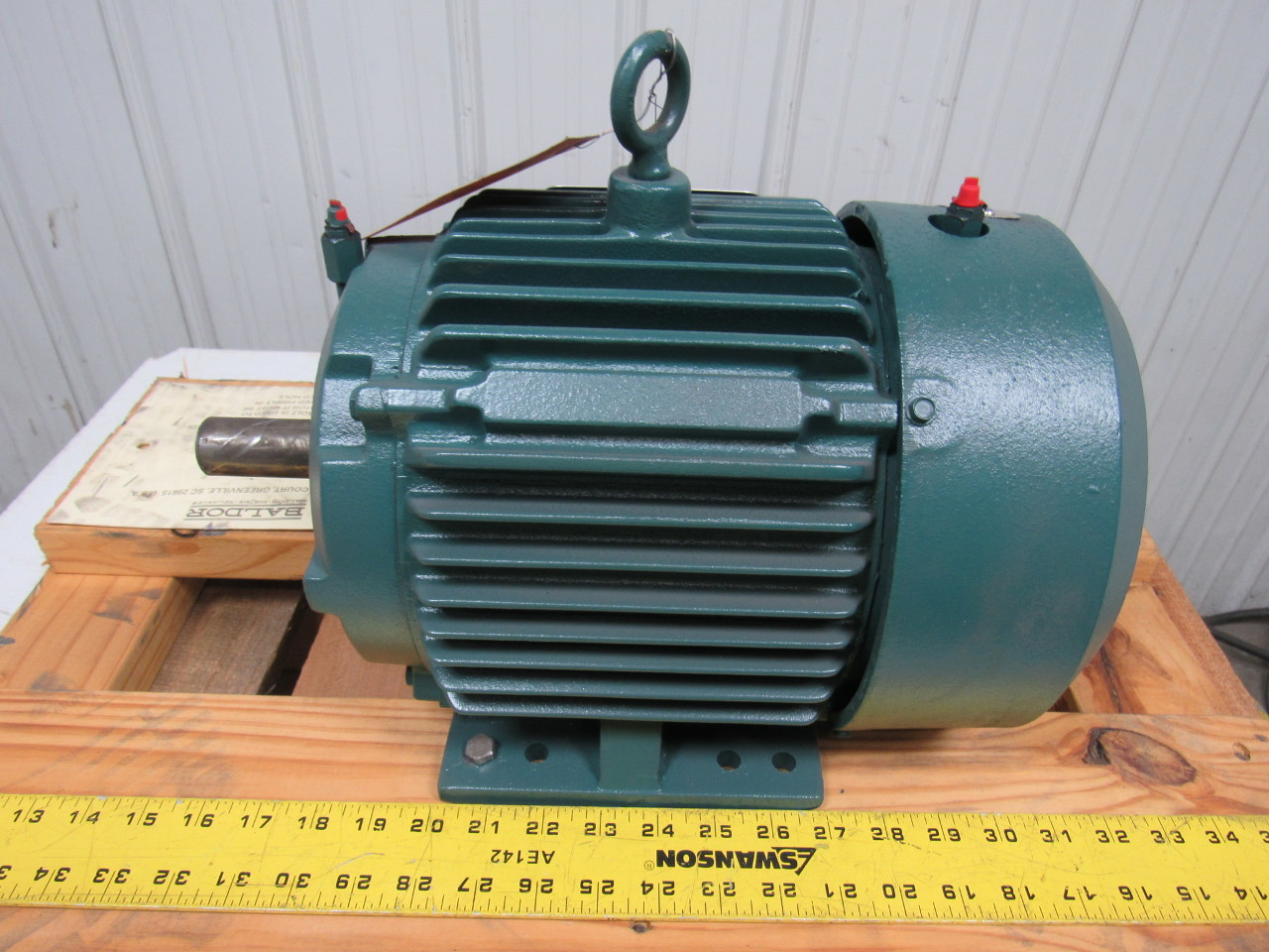Baldor Cp3665t 5 Hp Ac Motor 208 230 460v 3ph 60hz 1750rpm