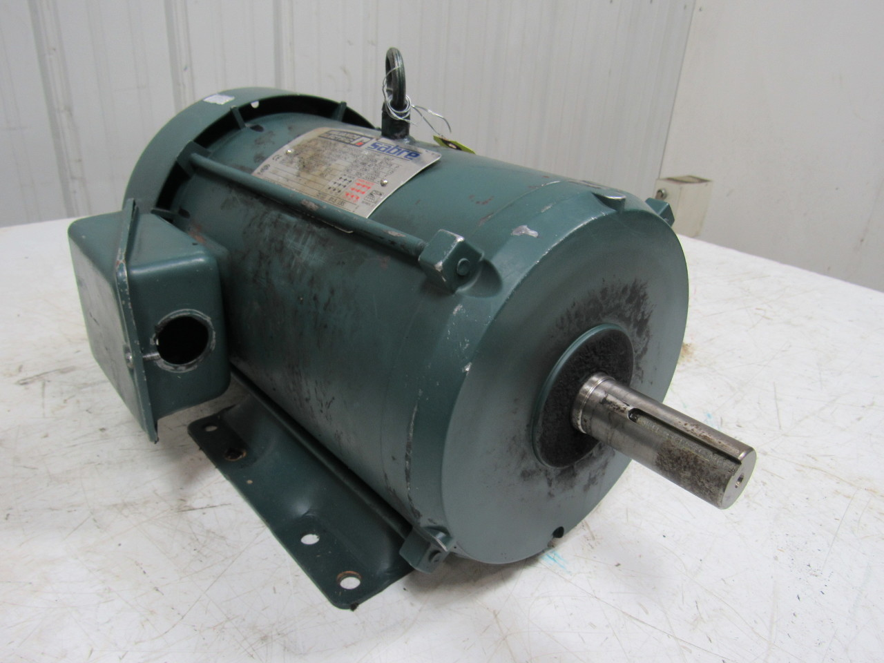 Reliance p18s3031 ed 5hp ac electric motor 208 230 460v 5hp motor
