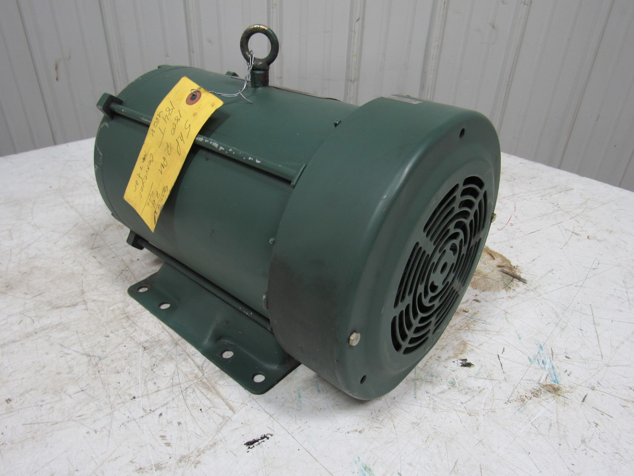 Reliance P18s3031 Gl 5hp Ac Electric Motor 208 23 460v