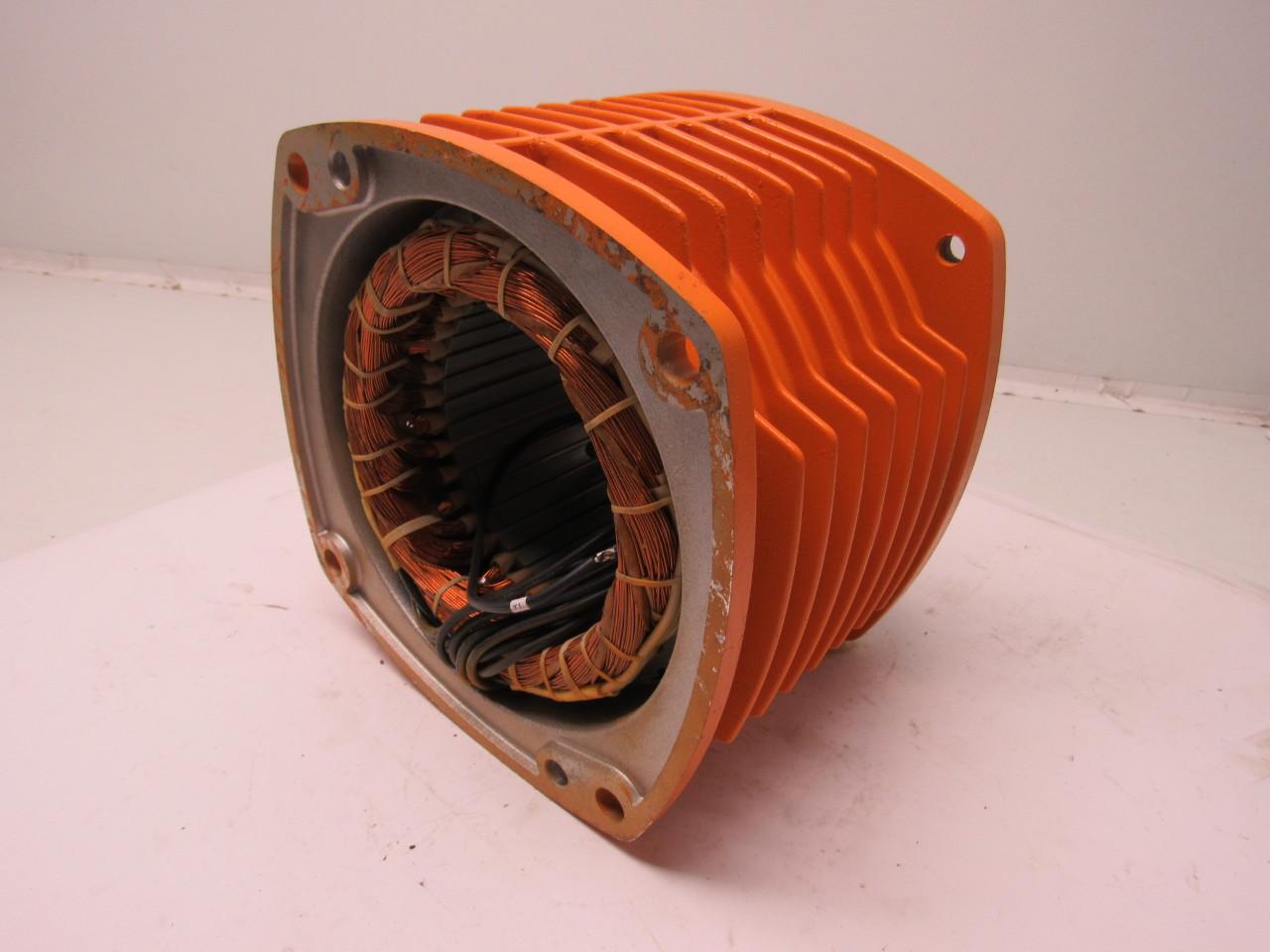 Motor stator for Linear induction motor winding