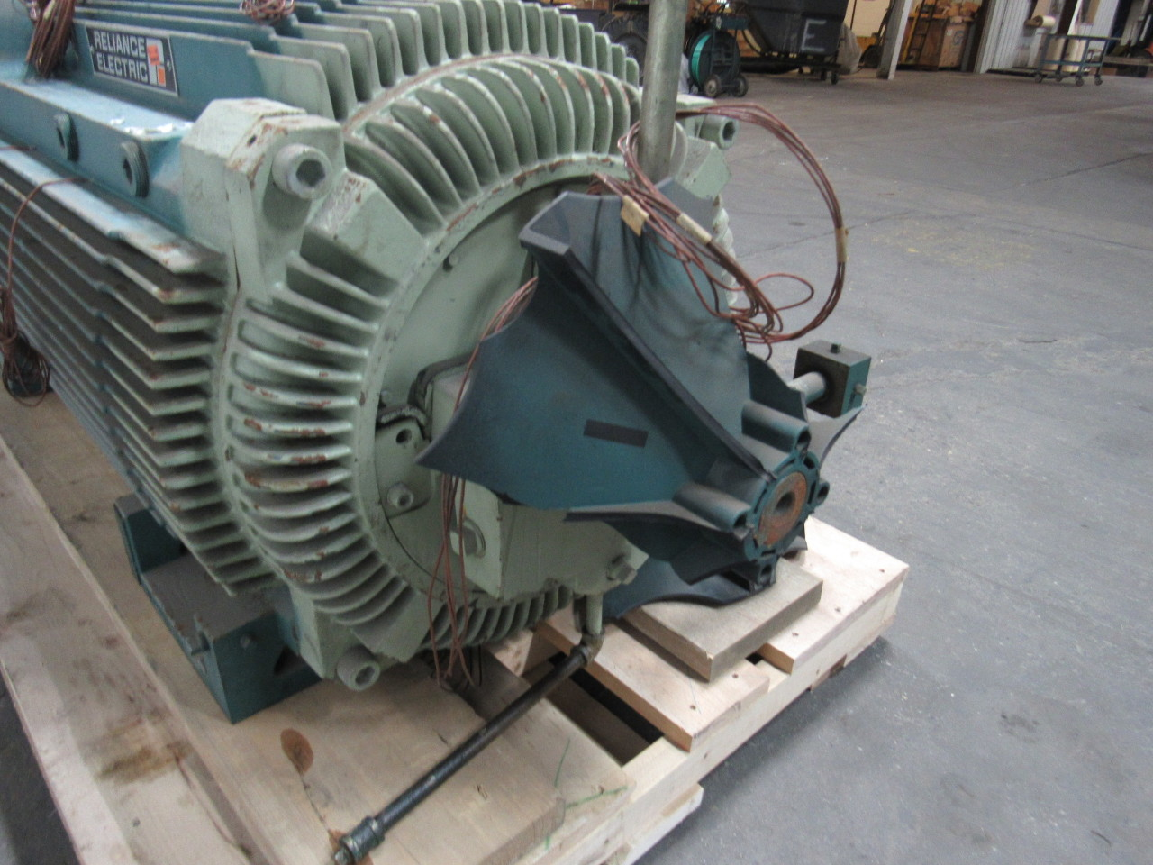 Reliance electric duty master 900 hp ac motor 1791rpm 4000 for Duty master ac motor
