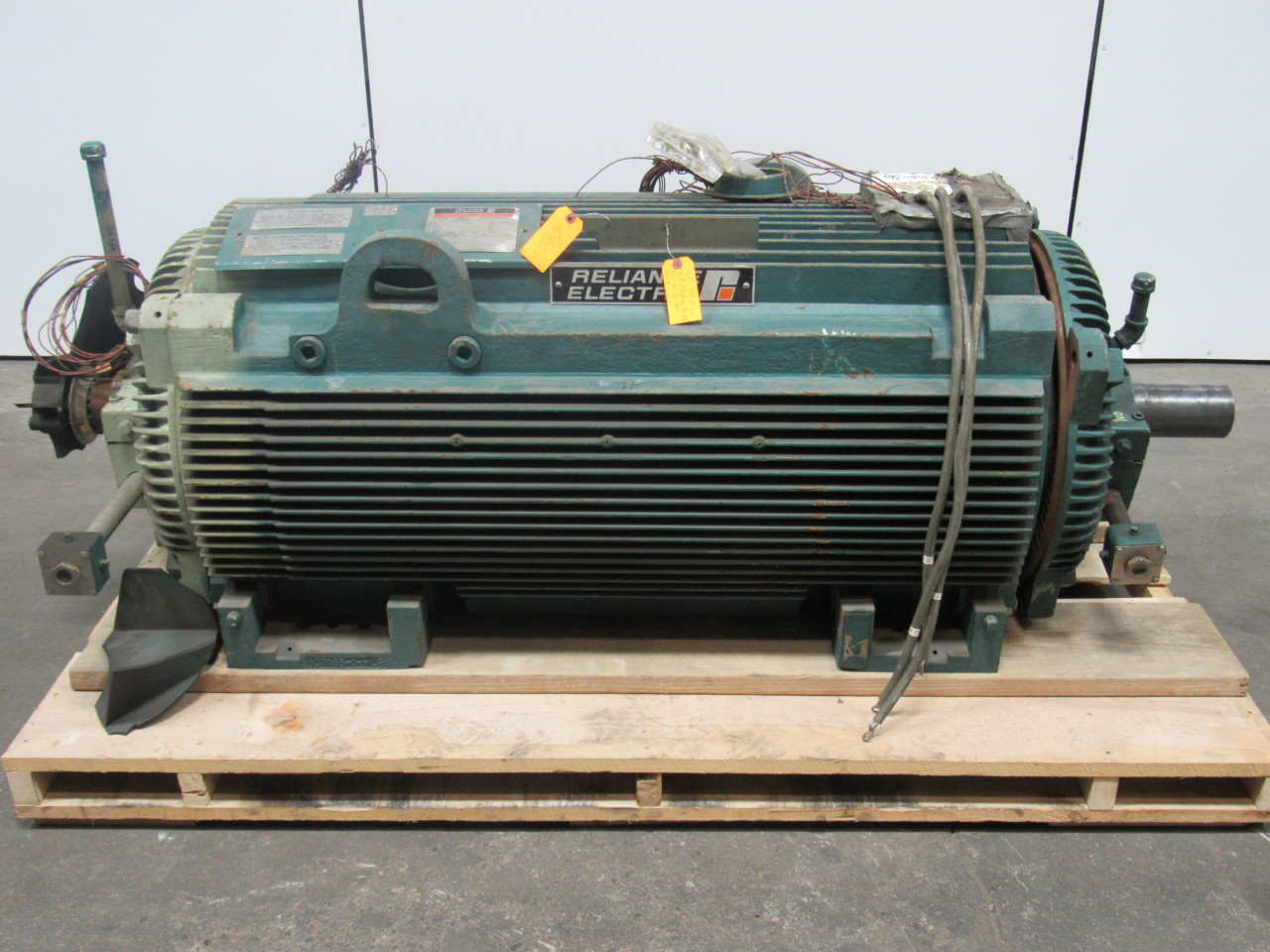 Reliance electric duty master 900 hp ac motor 1791rpm 4000 for Duty master ac motor reliance electric