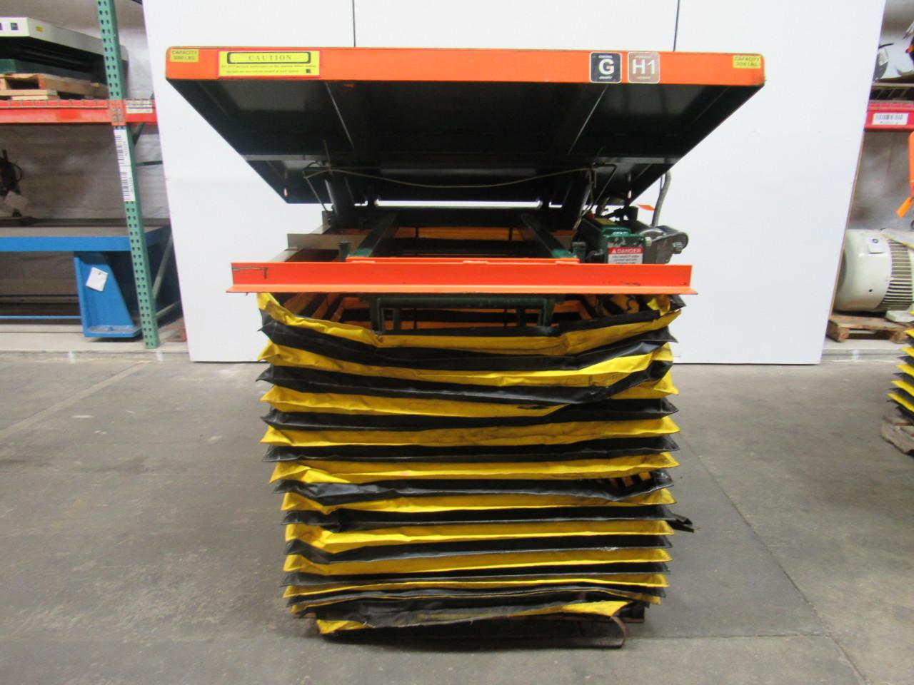 Southworth Lift Tilt Table 3000lb 12 36 Quot Travel 58x48 Quot Top