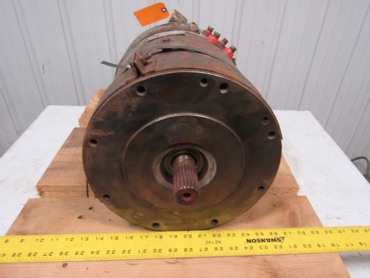 Allis chalmers ge e50 ge dc motor ta 8 386 p from lift for Allis chalmers electric motor