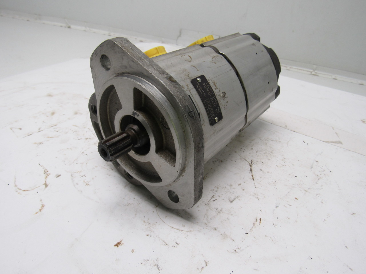 Parker 3349120021 double hydraulic pump for Parker hydraulic motor distributors