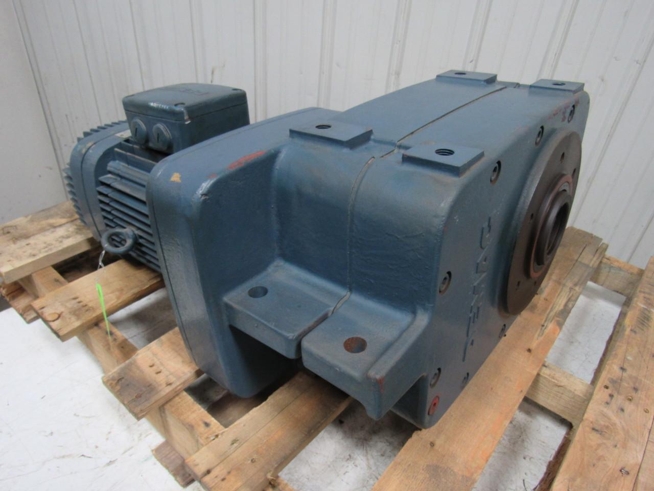 Mannesmann demag af12 m01 20 1 overhead crane offset gear for Hollow shaft gear motor