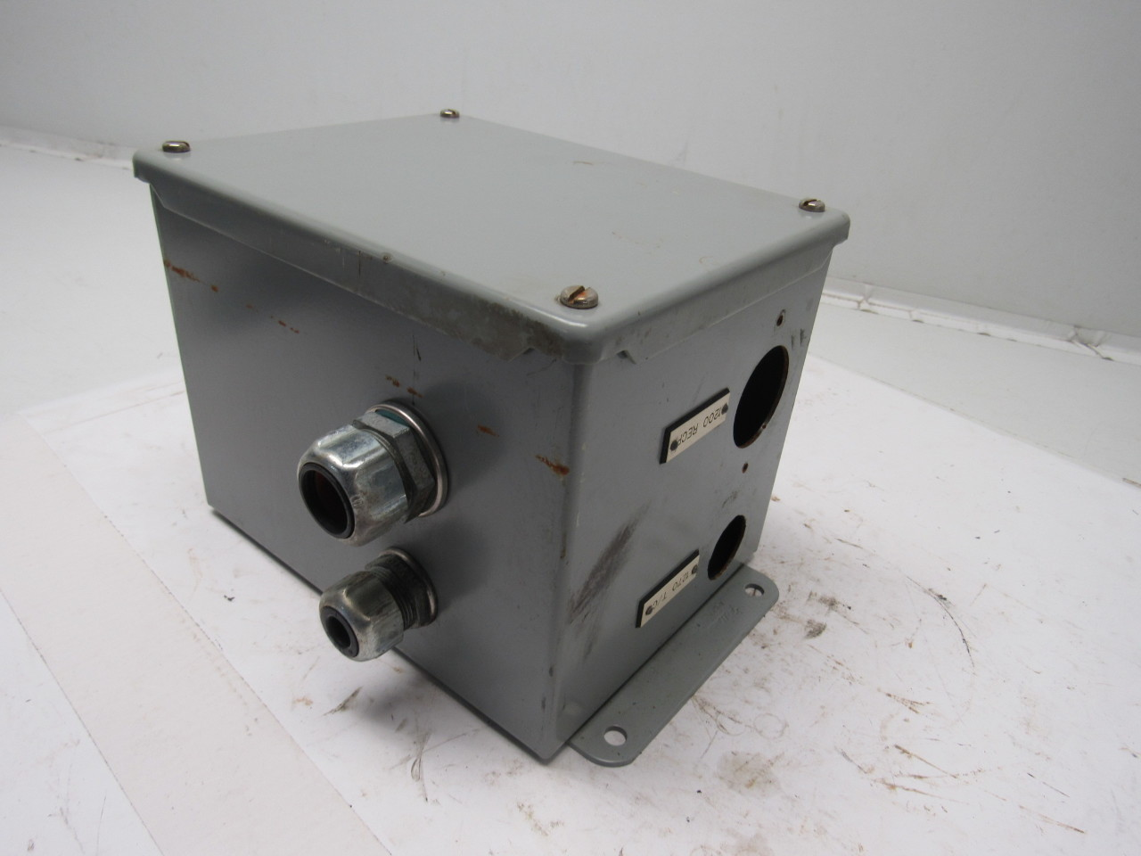 Hoffman a 8066sc type 12 electrical enclosure 8 x 6 x 6 for Electric motor enclosure types
