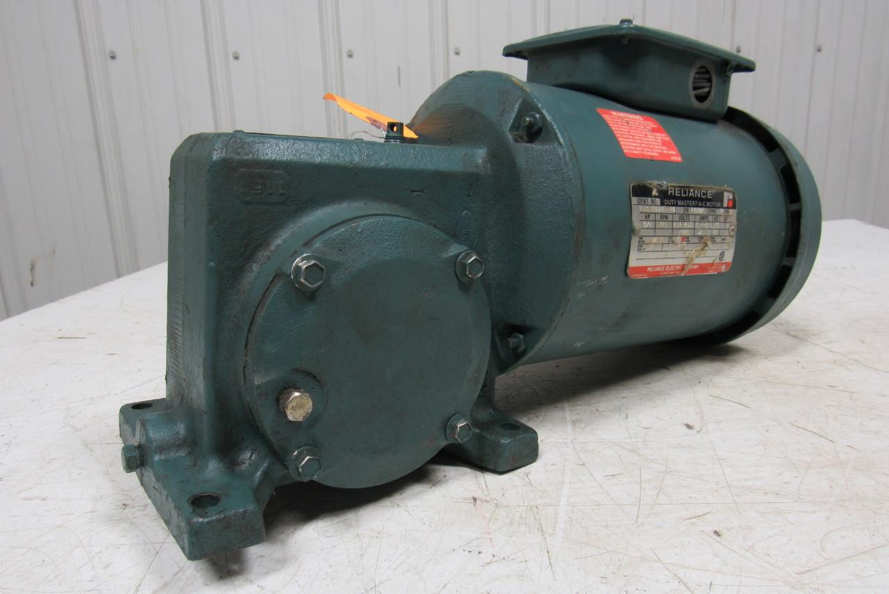 Reliance Electric Fc56wg16c 12 7 1 Ratio Gear Box Speed