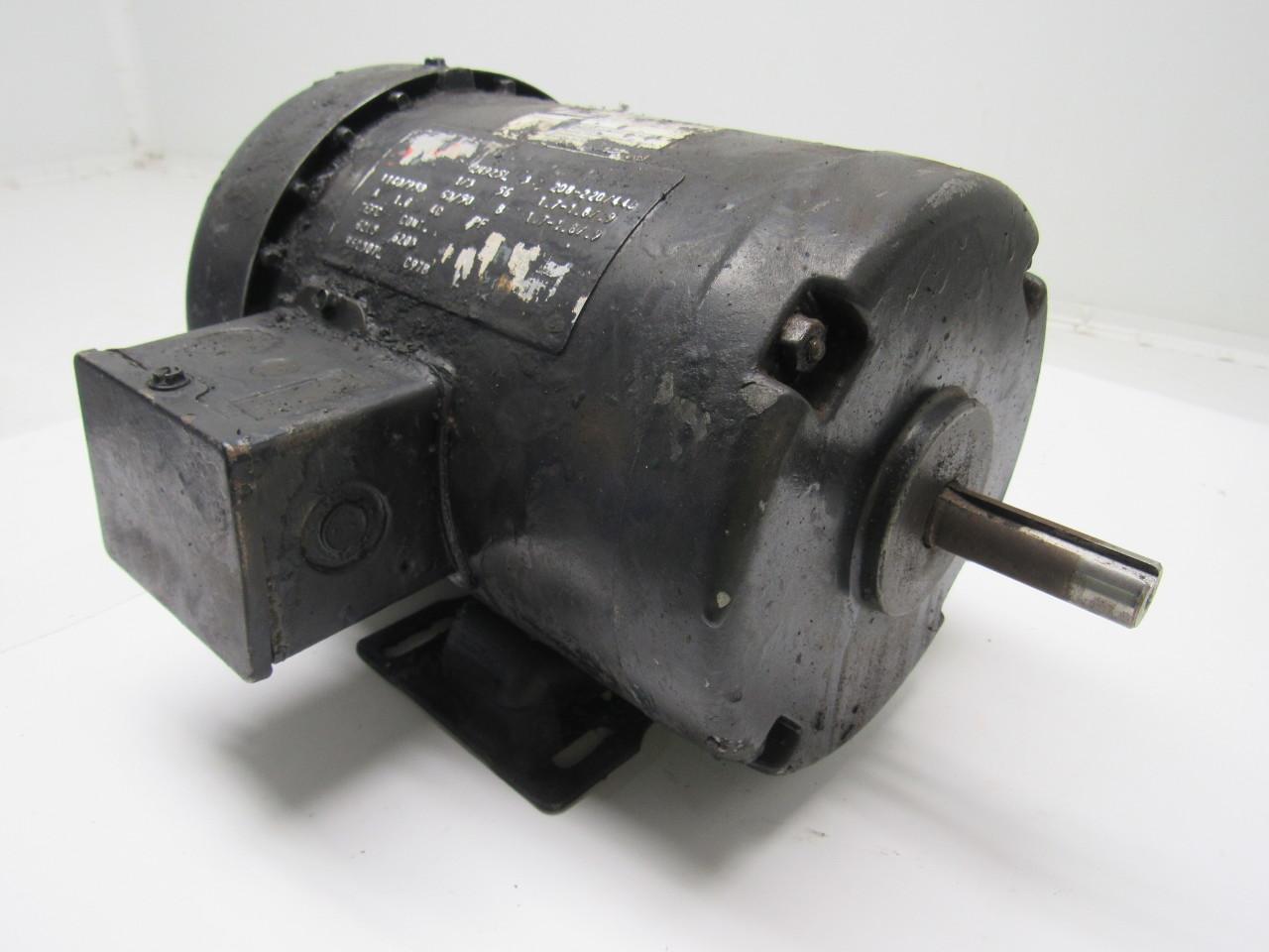 Dayton 2n925l 1 3hp 3ph 208 230 460v 1140rpm Electric Motor