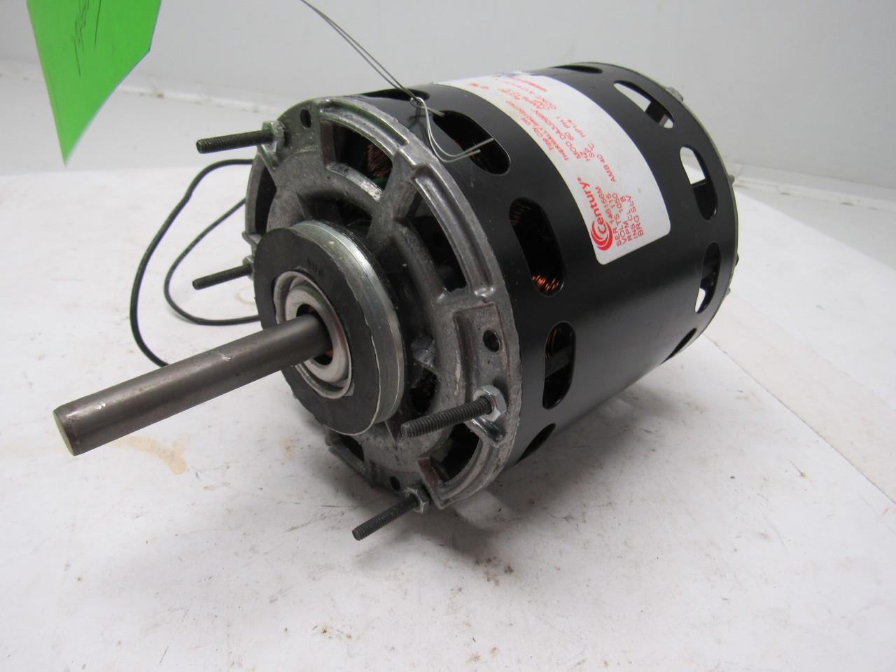Century da3j096n 1 4 hp 115 v 1 ph 1050 rpm electric fan for 1 hp blower motor