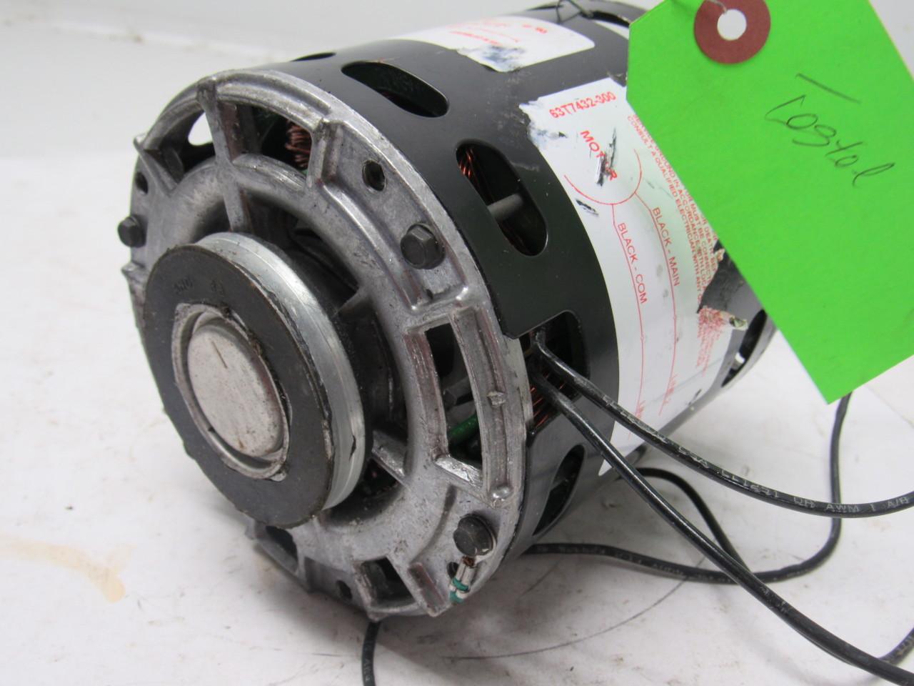 Century Da3j096n 1 4 Hp 115 V 1 Ph 1050 Rpm Electric Fan