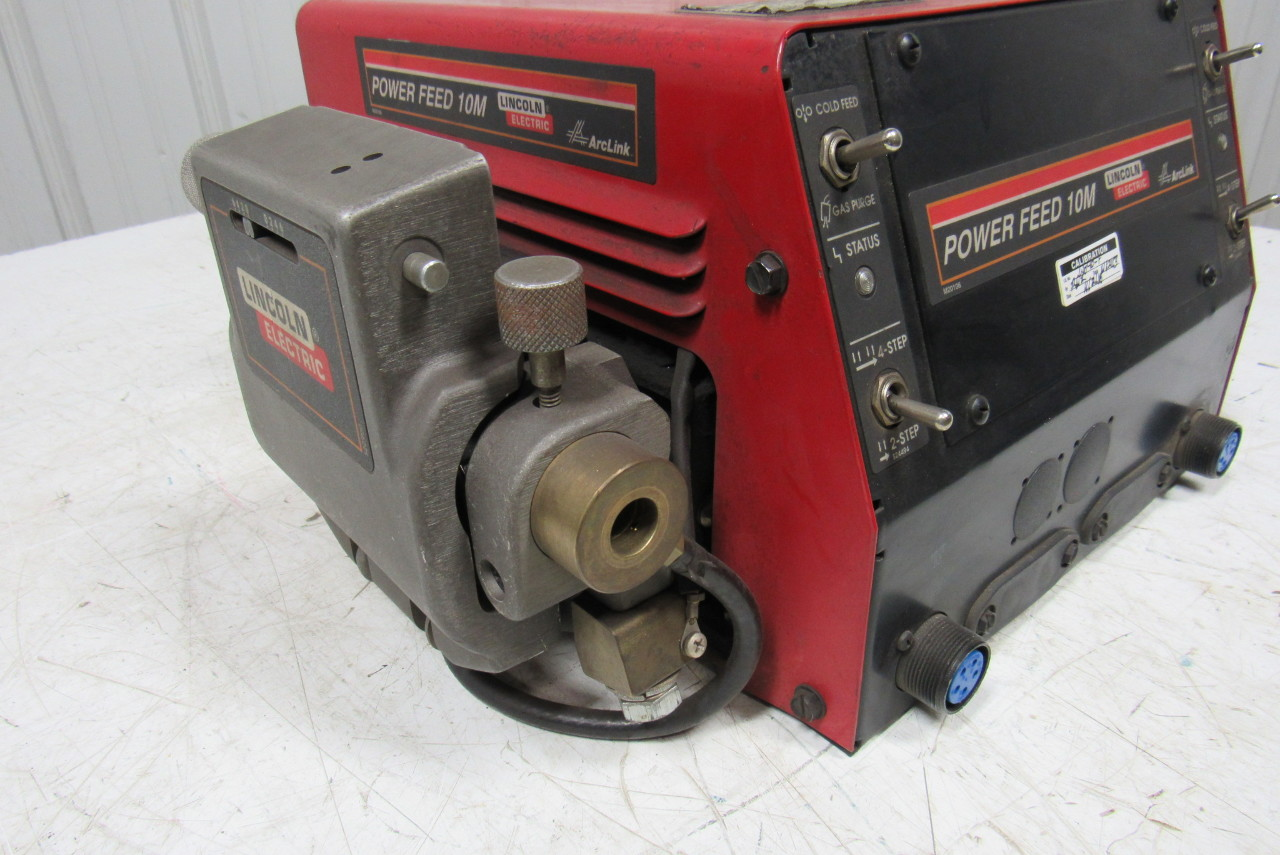 Lincoln electric power feed 10m 11194 dual wire feeder for Lincoln wire feed motor