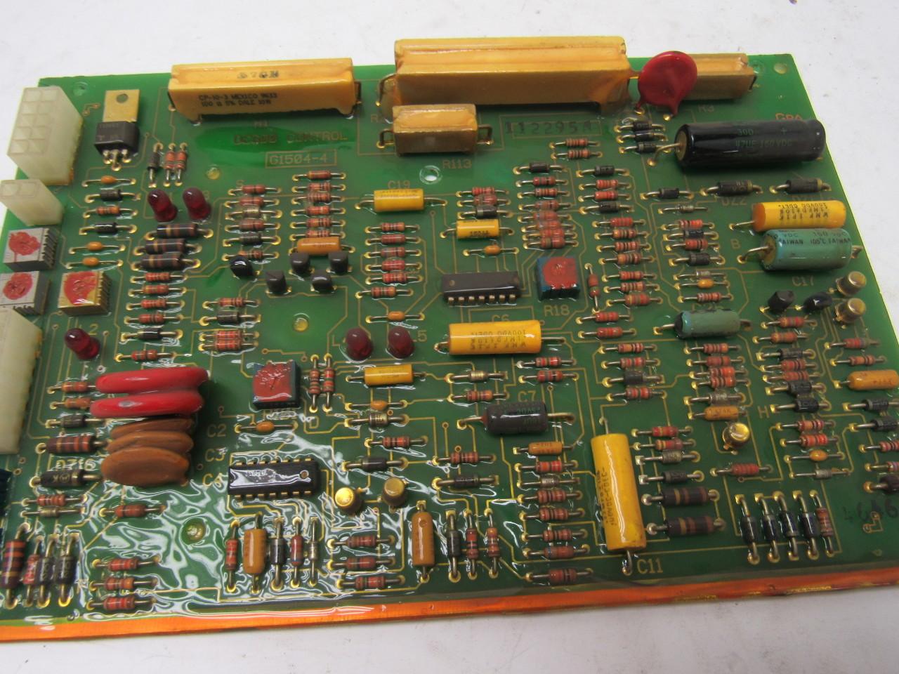 lincoln electric g1504 4 dc600 welder control circuit. Black Bedroom Furniture Sets. Home Design Ideas
