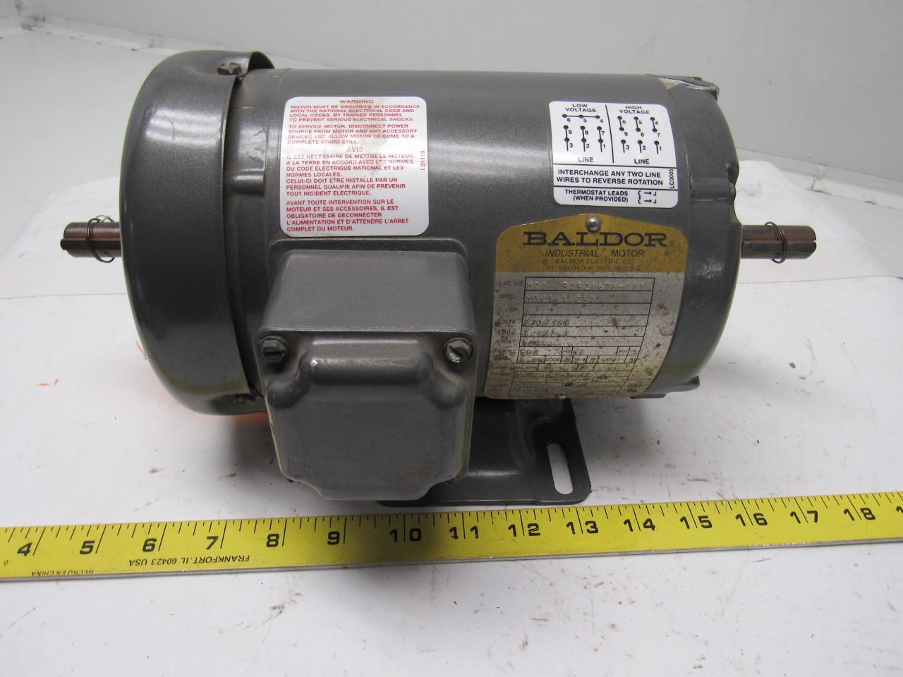 Baldor 3hp Single Phase Motor Wiring Diagram : Baldor 3 hp motor wiring diagram best wiring diagram image 2018