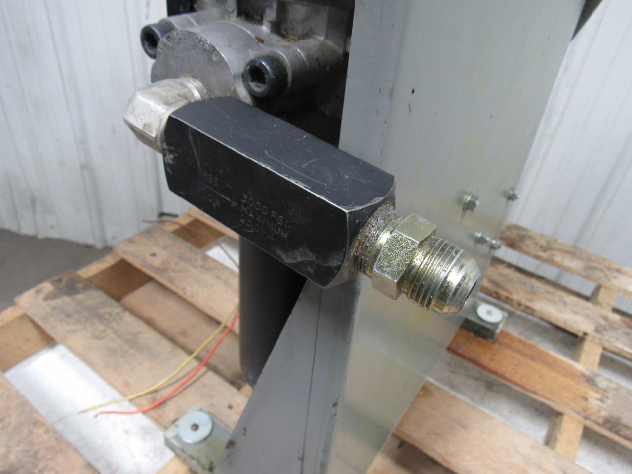Parker hydraulic 656876 pump motor filter assy used tested for Parker hydraulic pumps and motors