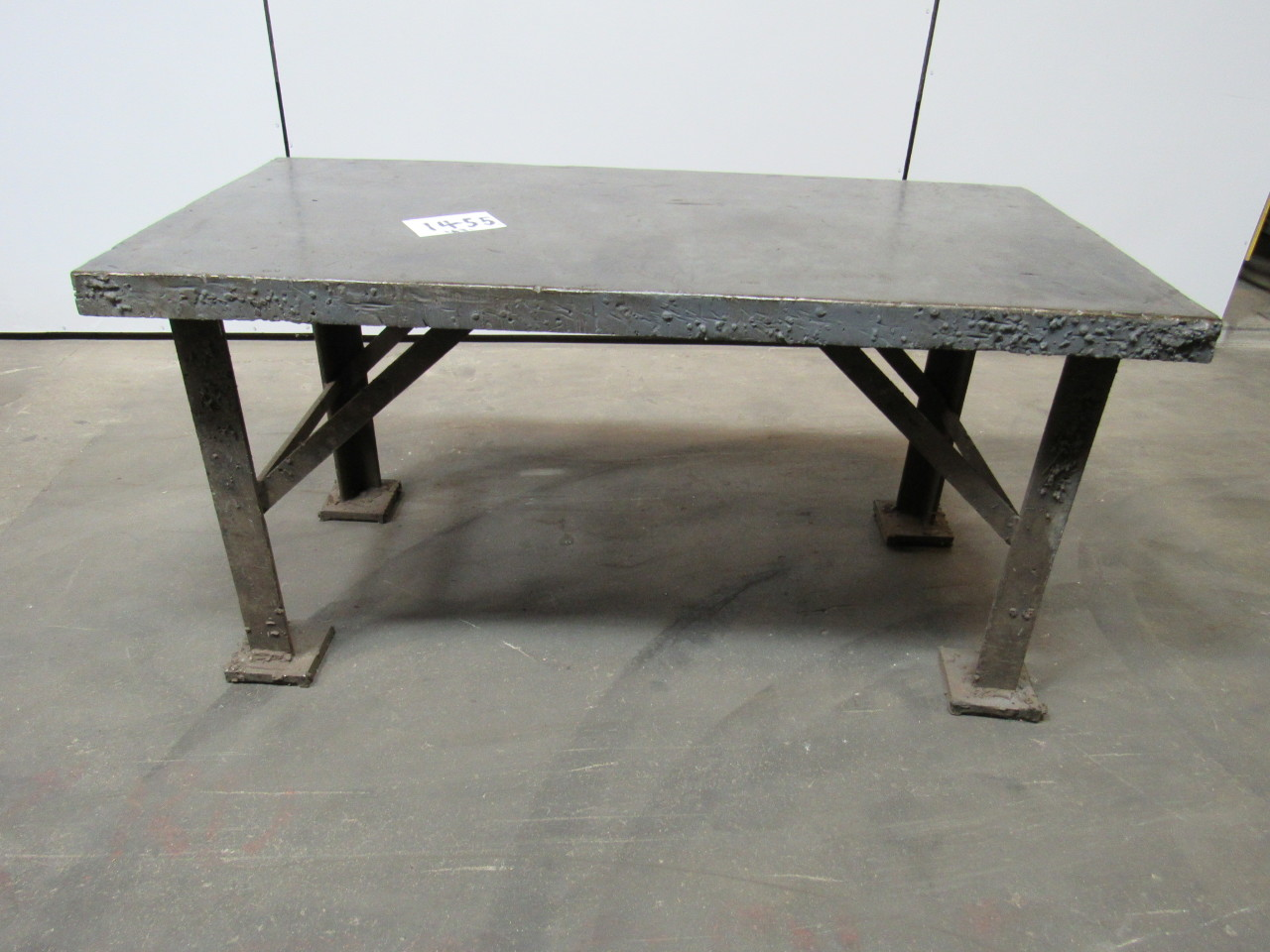 60 x30 x 30 1 2 welding layout assembly table bench 2 1 2 solid top ebay 30 bench