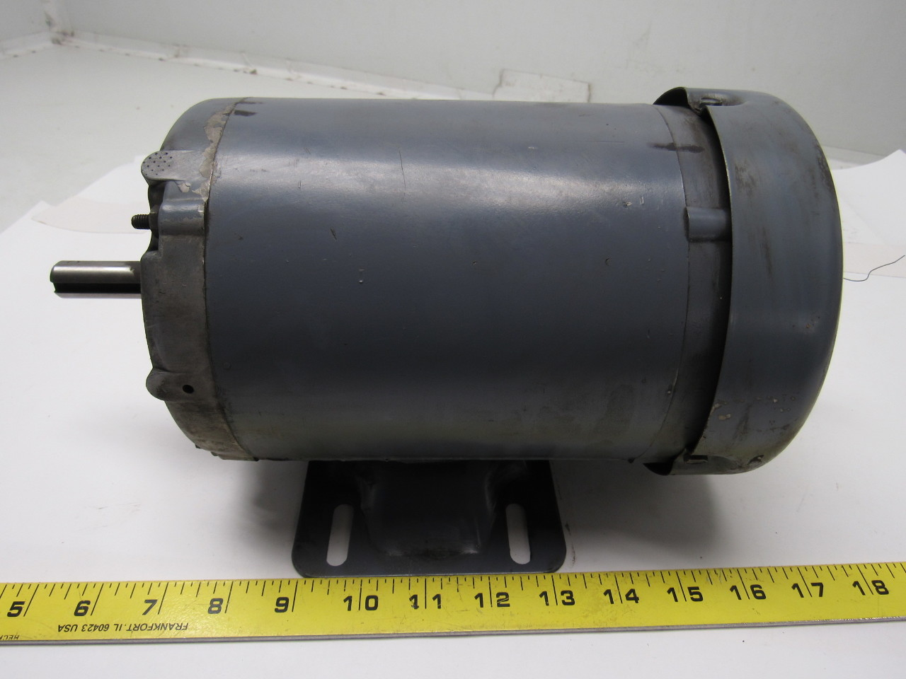 Baldor m3537 1 2 hp electric motor 3ph 208 230 460v for 1 2 hp ac motor