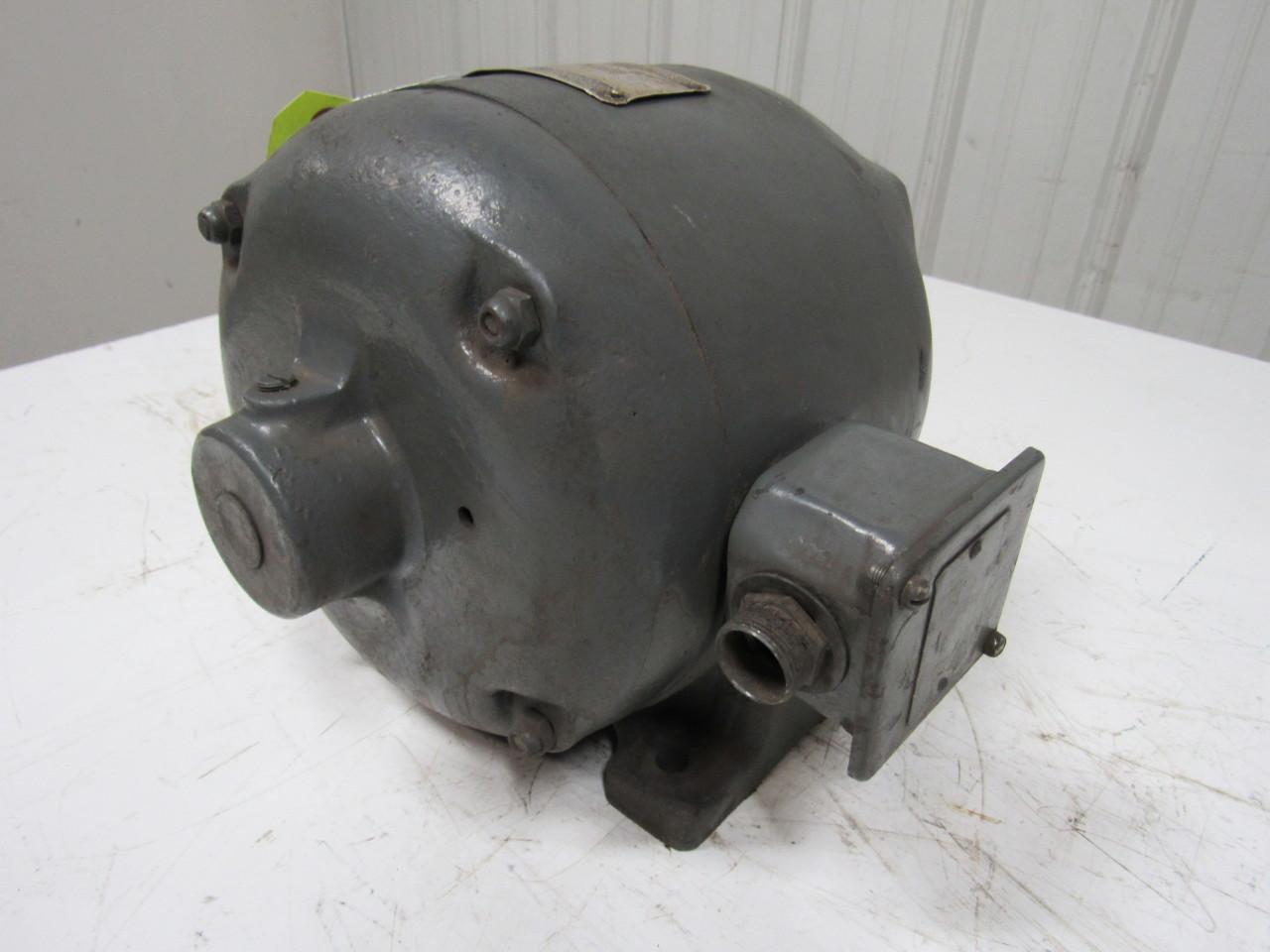 Master 152504 1 4hp Vintage Electric Motor 3ph 220v