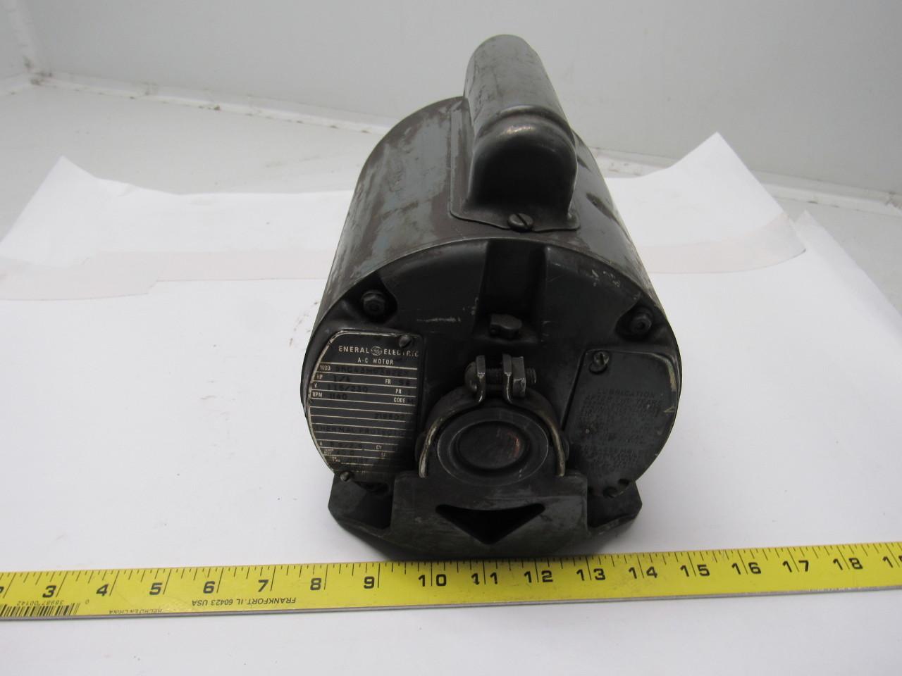 Ge general electric 5kc43mg362ex 1 4 hp motor 1ph 115 220v for 56 frame motor shaft size