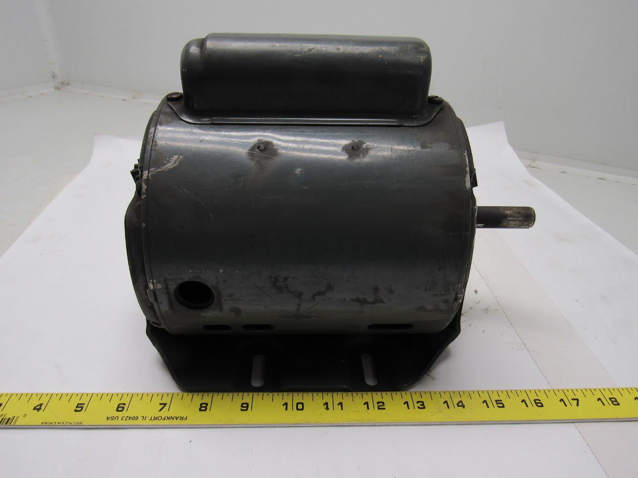 Ge General Electric 5kc43mg362ex 1  4 Hp Motor 1ph 115  220v