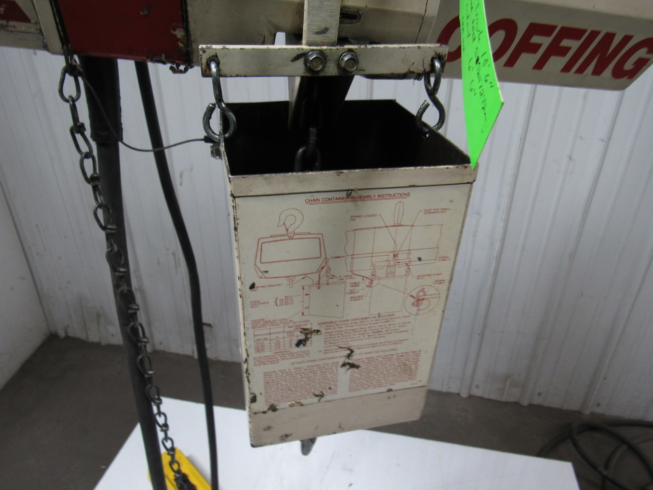 Contemporary Chain Hoist Wiring Diagram For Collection - Everything ...