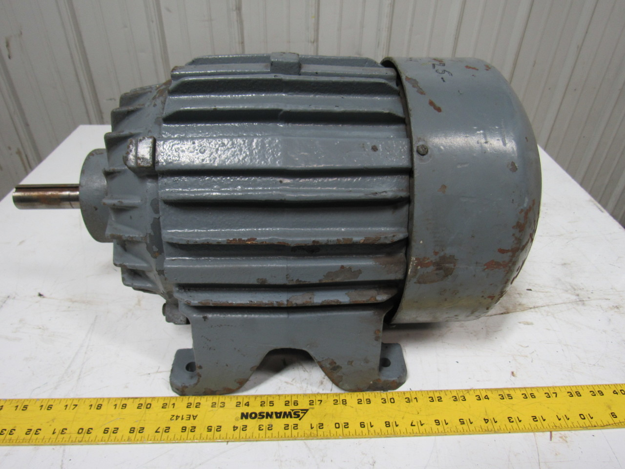 allis chalmers 3hp electric motor 3ph 440v 1150 rpm 254