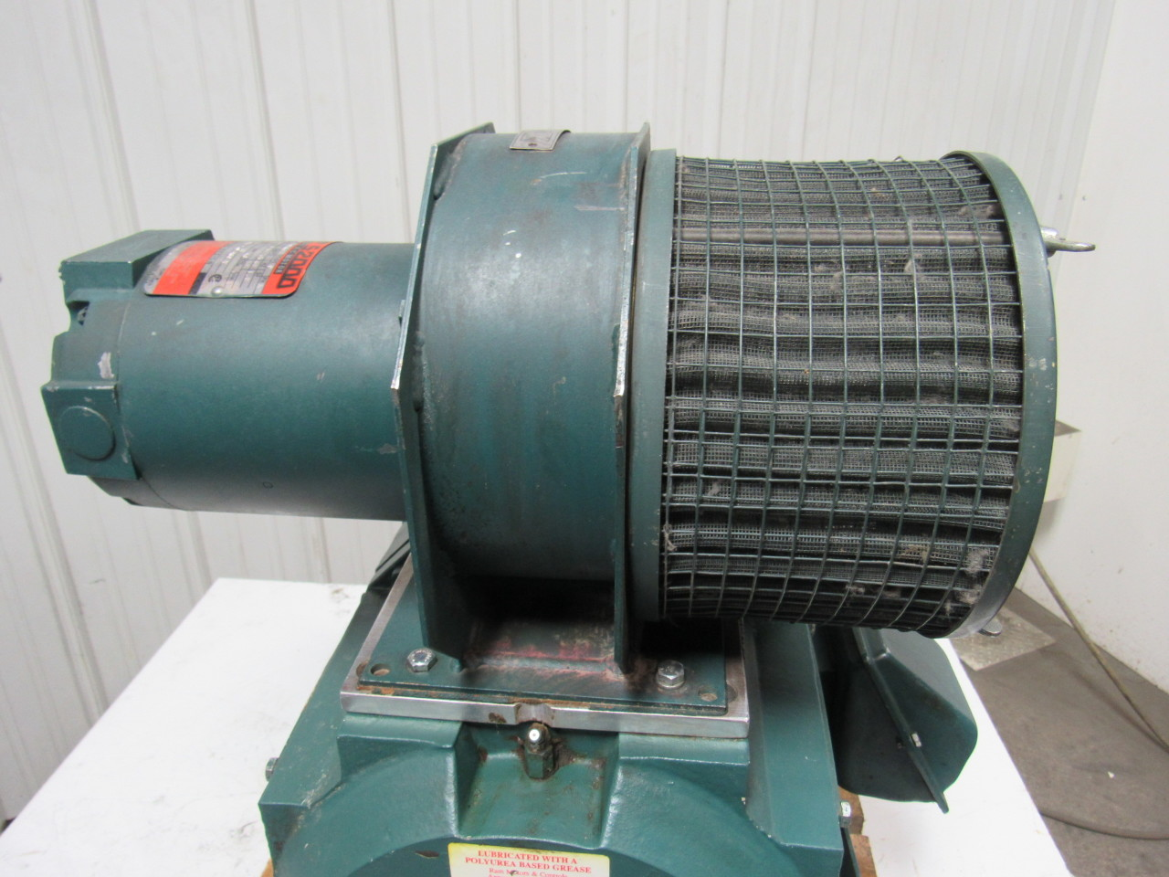 Reliance electric 2ksk11972h pu 40hp 500vdc wound field for 40 hp dc motor