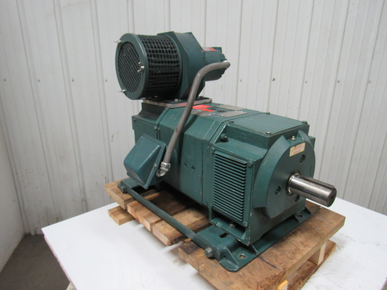 Reliance Electric 2ksk11972h Pu 40hp 500vdc Wound Field