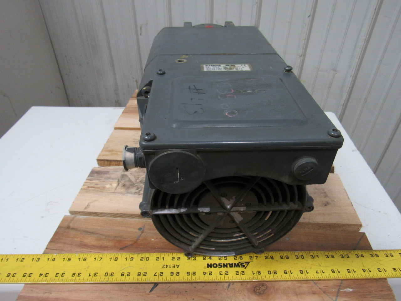 Siemens 1ph7133 2eg00 0ba9 Asynchronous Servo Motor 3ph