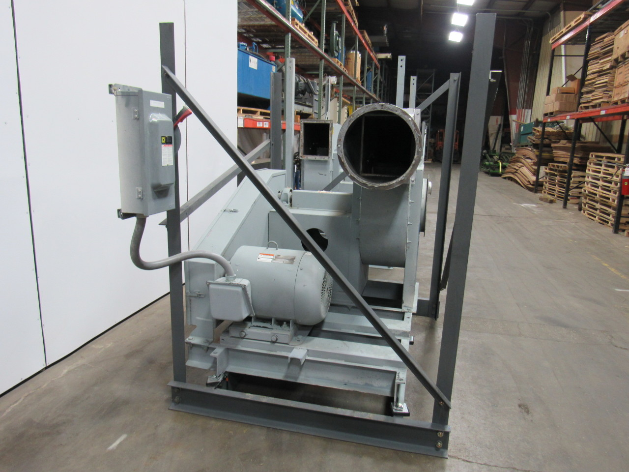 Dust Collector Blower : Puhl r hp blower paper dust collector fan