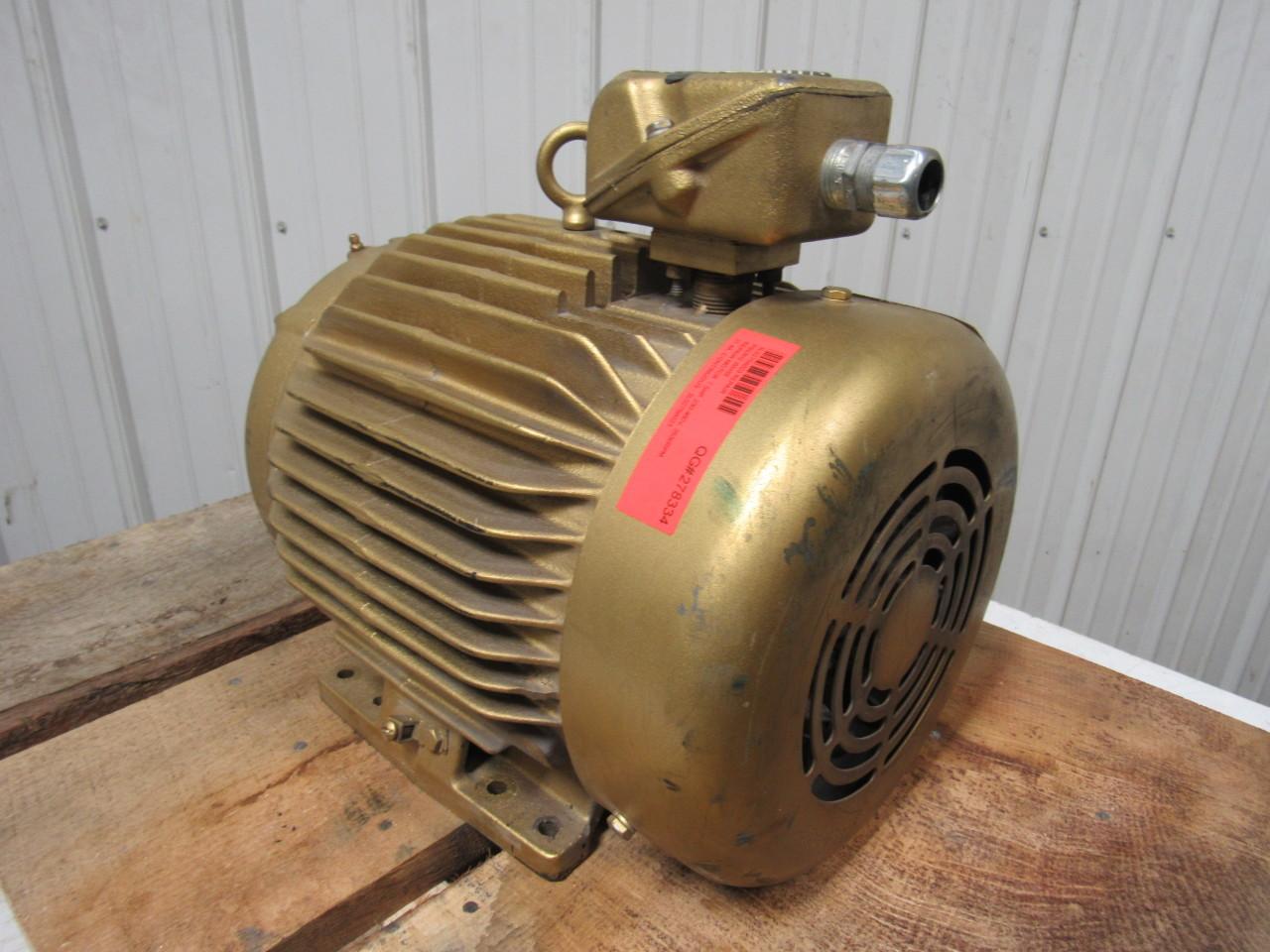Baldor 07h997w280e7 7 5hp 3525rpm 230 460v 286tz frame for Baldor electric motors for sale