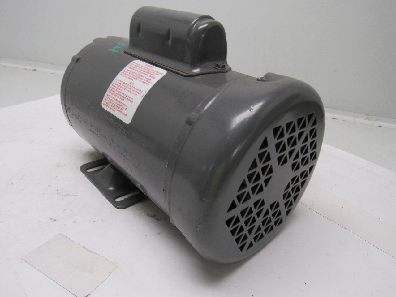 Baldor L3409 50 1 2hp 1425rpm 110 220v 1ph Electric Motor