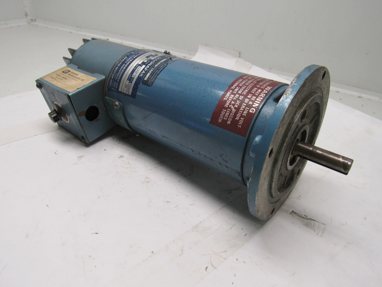 Graham magnapak 303cmo 1 2hp 1725rpm 90vdc drive electric for 90 volt dc motor controller