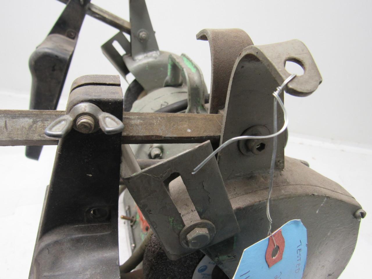 Black Decker Vintage Industrial 6 Bench Grinder 220 230v 1ph 1 3hp