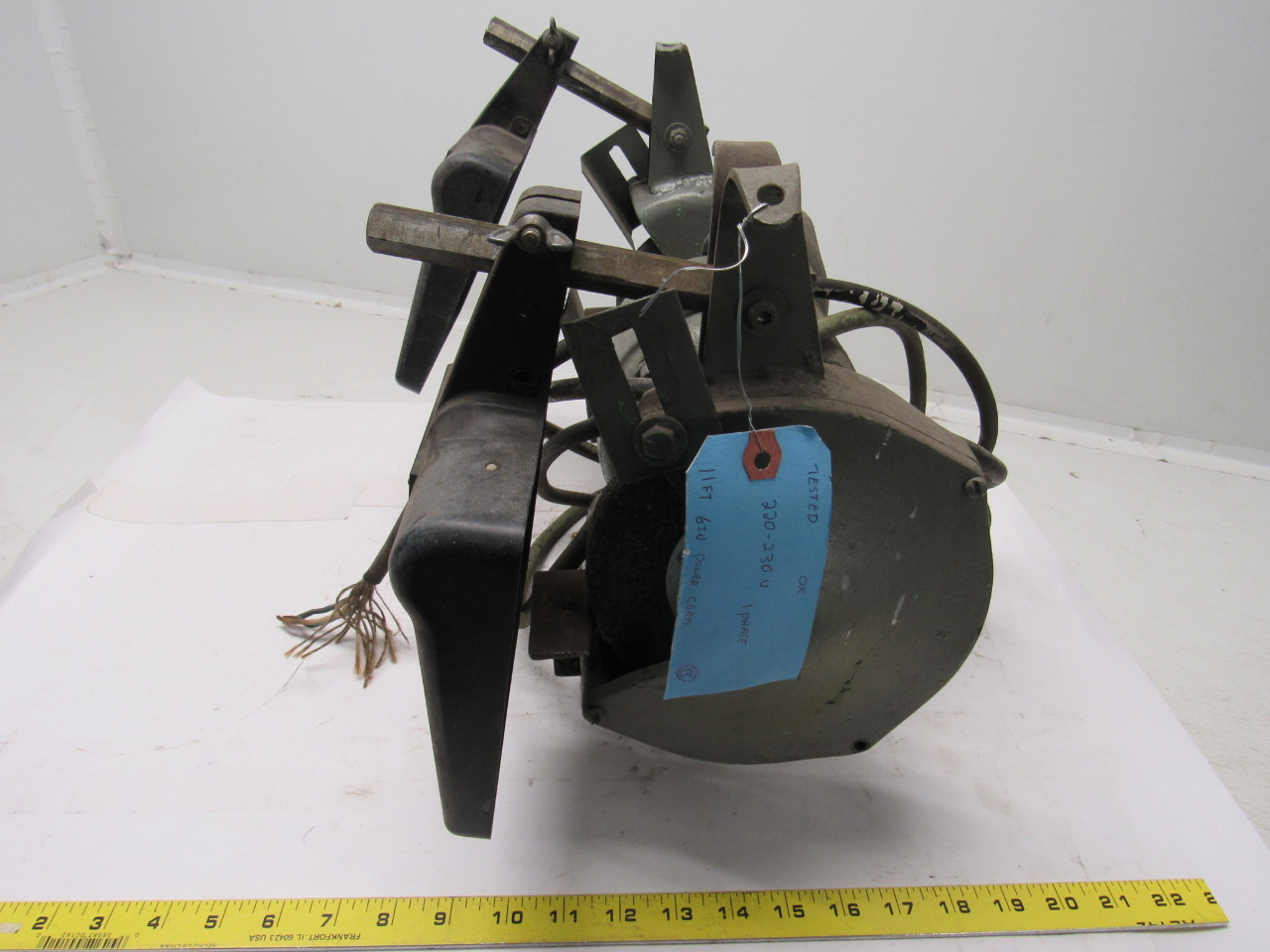 Black Amp Decker Vintage Industrial 6 Quot Bench Grinder 220
